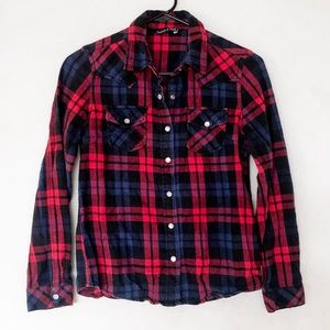 Red Flannel Winter Shirt